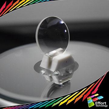 customized large plano convex optical lens