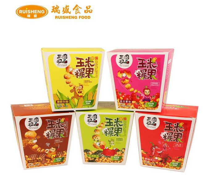 Snack Wholesale Name Sweet Corn , Halal Corn Flakes 25g Sweet Corn Flavoring