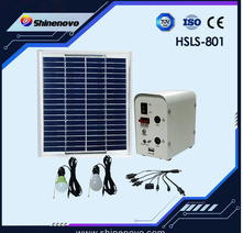 5W Household solar light system ( with 2 pcs LED light )