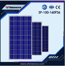 shinenovo 150W-160W Poly crystalline solar panel