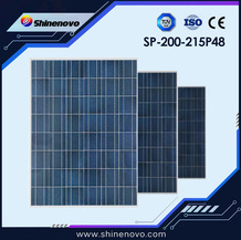 SP-200-215P48 Poly Crystalline Silicon Solar Panel Approved by CE
