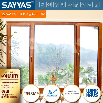 solid wood window