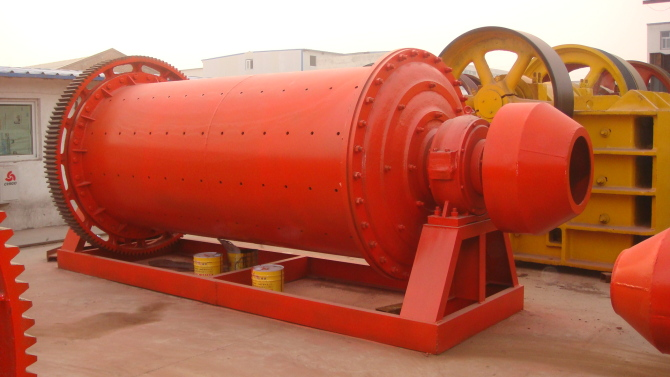 Jinlun ball mill - mining machinery and spare parts