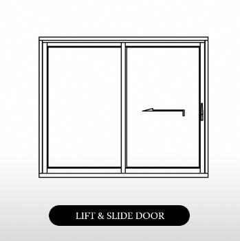 tilt and slide door