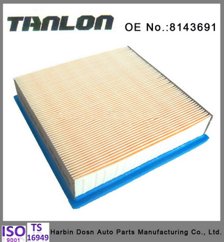Auto parts, air filter fits for volvo truck