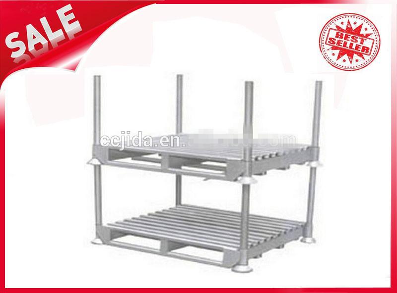 Galvanized steel post pallets