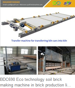 BDC690 Eco technology soil brick making machine in brick production line