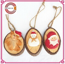 2015 new hot christmas crafts wooden christmas decorations