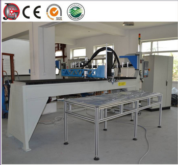 Pu mixing and dosing machine for cabinet sealing gasket