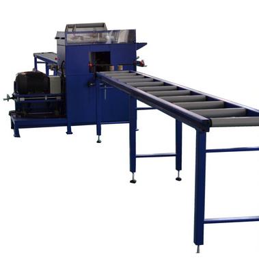 Aluminum profiles bridge injecting and cutting machine