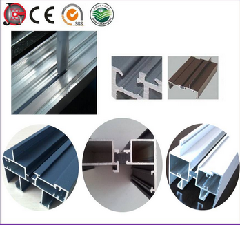 Aluminum profiles bridge injecting and cutting machine