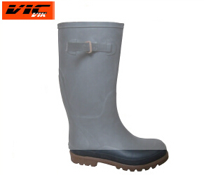 Men Waterproof Western Rain Boots