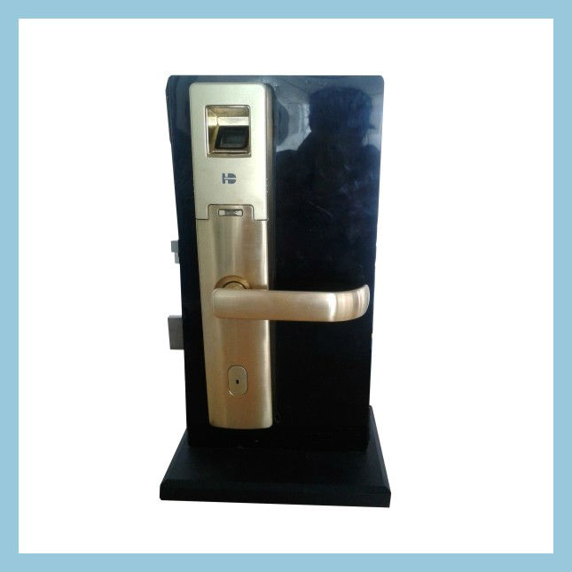 Fingerprint lock with keeping record function