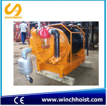 5 ton air winch for coal mine with hand brake and disk brake 5 ton air winch air tugger pneumatic winch