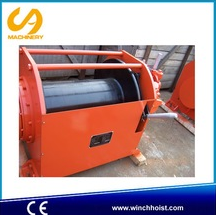 China supplier for marrine with hand brake and disk brake 5 ton air winch air tugger pneumatic winch