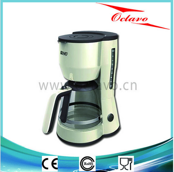 Coffee Maker OC-956/On/off switch/Transparent water scale