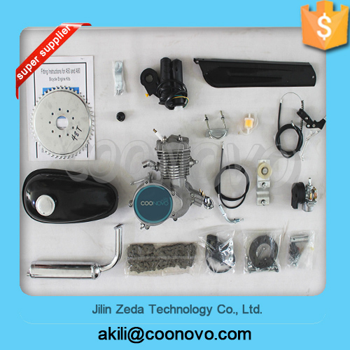 80cc bicycle gasoline engine kit/2 stroke engine kit for bike