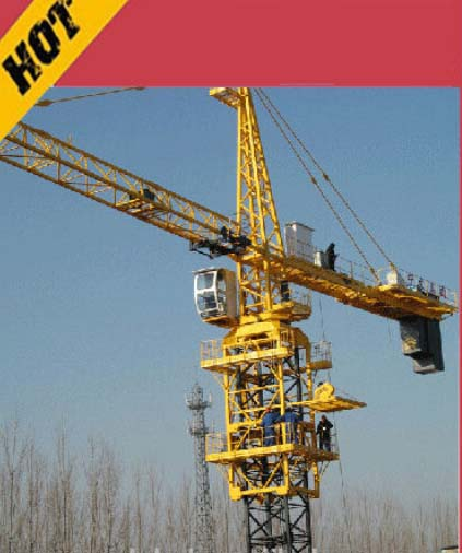 China hottest promotion tower crane QTZ40(5008) 4T