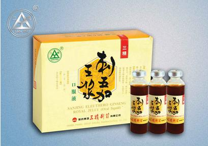 Eleuthero Ginseng Royal Jelly Oral Liquid