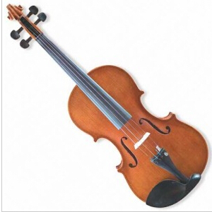 3/4 Violin with Solid Spruce Top
