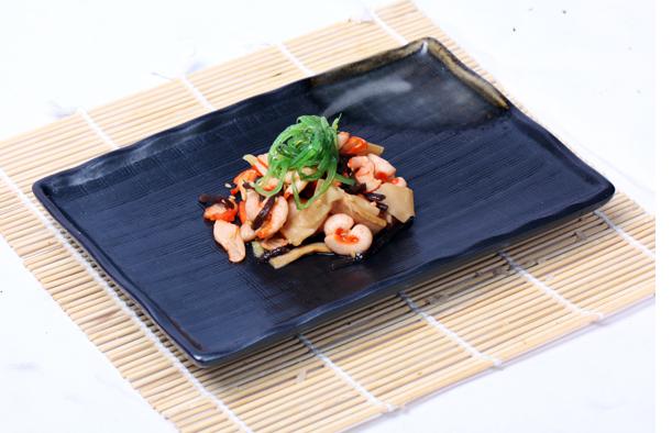 2015 JAPANESE SUSHI FOOD CHUKA IKA SANSAI