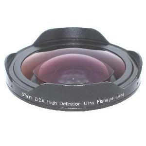 37mm 0.3x Ultra Super Fisheye Converter Lens for SONY HDR-FX1 CANON GL1 GL2 GL3