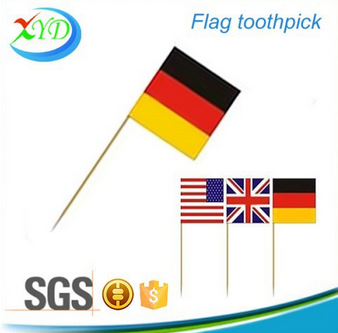 Compete price flags design toothpick