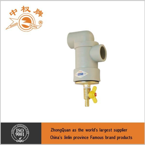 PP-R-32-S2.5 Geothermal Filter Valve for ground heat