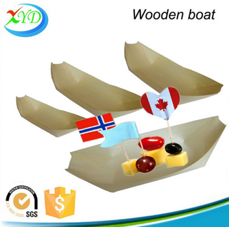 2015 new product wooden sushi boat