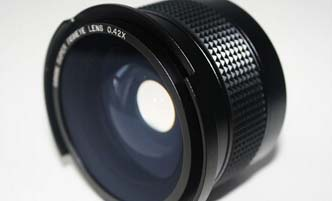 52mm 0.42x fisheye lens
