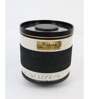 500mm f/6.3 mirror lens