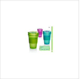 450ml PP Single Wall Tumbler