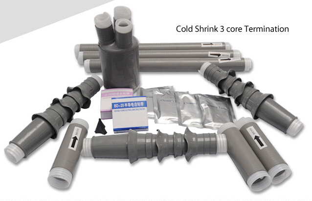 11KV Cold Shrinkable Power Cable Outdoor Termination Kits