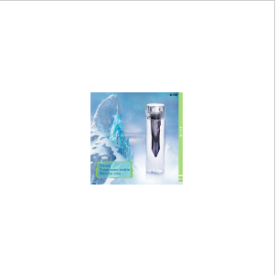 750ml Tritan Water Bottle with Ice Tube