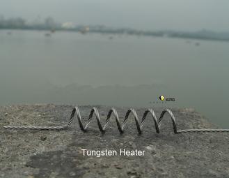 Tungsten resistance heater