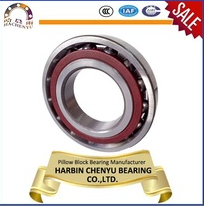 Chrome steel angular contact ball bearing 7213AC