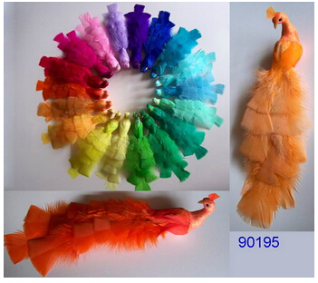 Artificial Feather Peacock