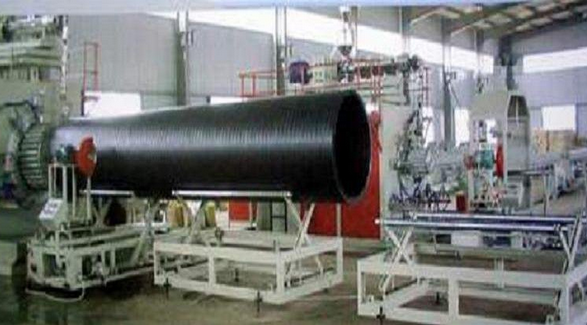 Huge Calibre Hollowness Wall Winding Pipe extrusion line