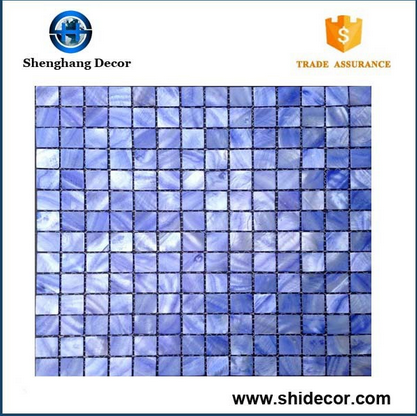 High Quality seashell mosaic tile