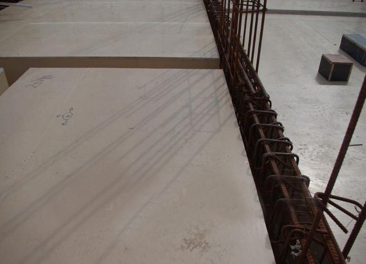 wood plastic concrete formwork board