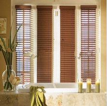 The perfect high-end decorative wooden blinds