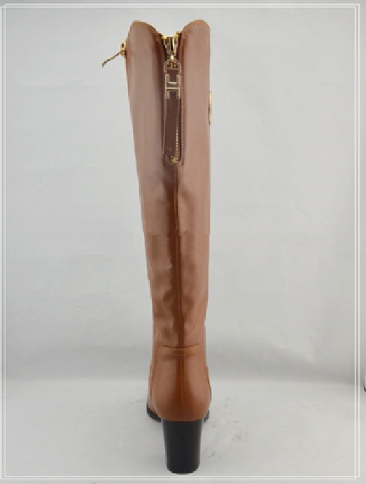 2015 new design china woman pu boot
