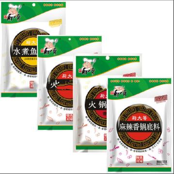 Chinese hot pot condiment, fish seasoning