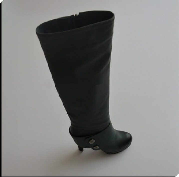 China cheap designer long rubber boot, clear rubber boots