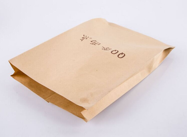 square bottom kraft paper bags with retailer price