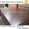 18mm poplar core wbp glue two hot pressed brown film faced plywood for building construction