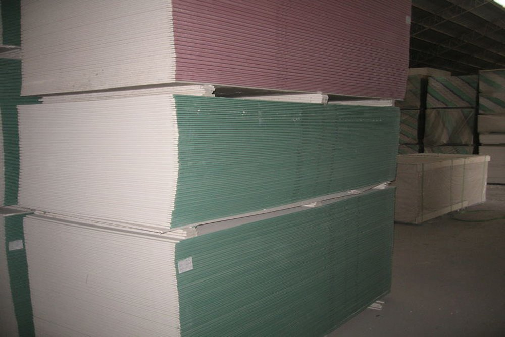 hot sale high strength Gypsum board /plasterboard/gypsum plank