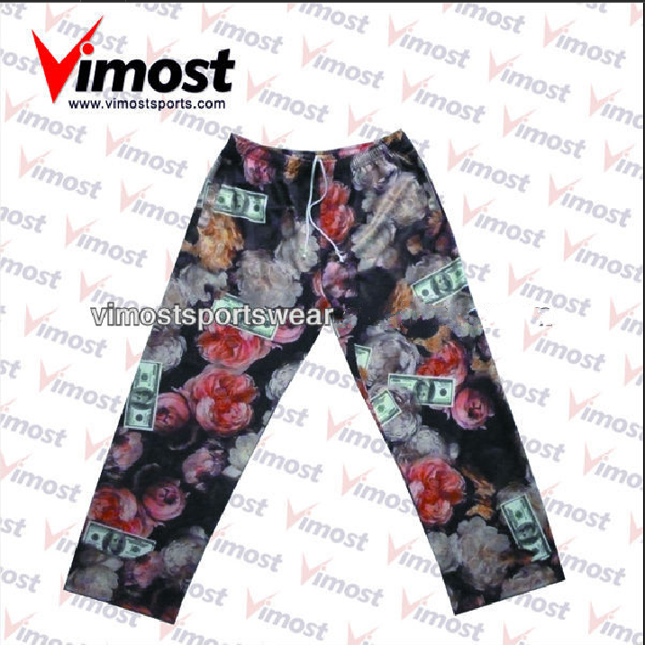 fashion printing style pants
