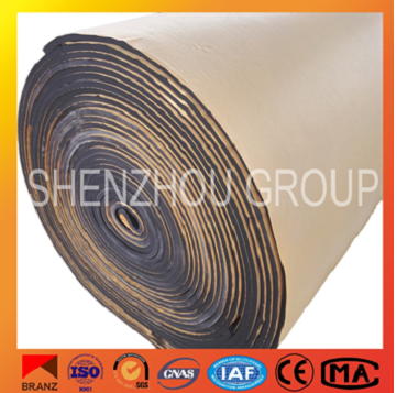 building industry closed cell rubber foam elastomeric insulation