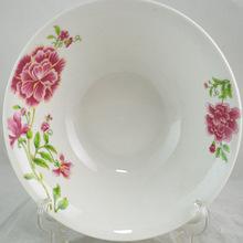 ceramic bowl China factory , wholesale salad bowl ,cheap porcelain soup bowl manufacturer